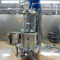 Koaxialrührmaschine für Lebensmittelindustry / Coaxial agitator for Foods