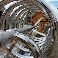 beheizbarer Wendel für Lebensmittelindustrie / heating helical ribbon for food industry