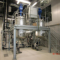Rührmaschine für Biotechnologie mit Temperiersystem / Agitator for biotechnology with temperingsystem