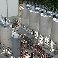 Hygienisierer und Puffertanks zur Biogasproduktion / Hygenizator and Buffer tank
