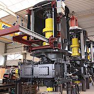 Antriebseinheit mit 570.000Nm Getriebe / drive unit with 570.000Nm gearbox