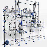 Rührmaschinen für Technikumsanlage / Agitator for pilot plant