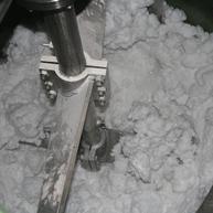 Koaxialrührmaschine für Wachsschmelze / Coaxial agitator for Polymerwax
