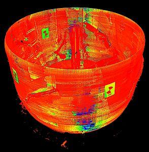 Beispiel für 3D Scan / Example of 3D scanning