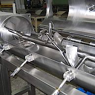 Horizontalmischer für die Lebensmittelindustrie / horizontical agitator for the food industry