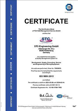 DIN ISO 9001:2015 GmbH